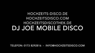 DJ Joe Dresden für Hochzeiten Privatfeiern Firmenevents