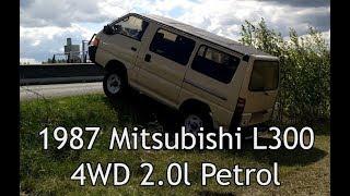 1987 Mitsubishi L300 4WD 2.0l Petrol test drive