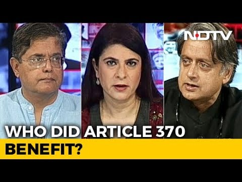 Kashmir Move A Turning Point In History? Shashi Tharoor, Jay Panda Debate