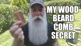 MY WOOD BEARD COMB SECRET
