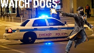 Watch Dogs Police Shootout & Chase