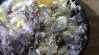 видео Порционная чугунная сковорода