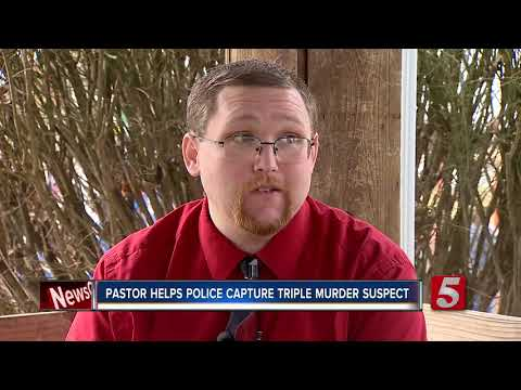 Pastor Helps Police Capture Triple-Murder Suspect