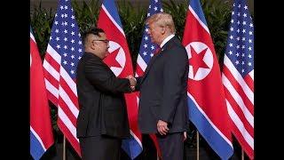 Переговоры Трампа и Кима в Сингапуре | 12.06.18
