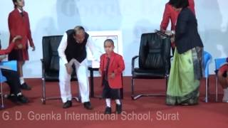 G. D. Goenka International School-Surat, An Interactive session with Kautilya Pandit