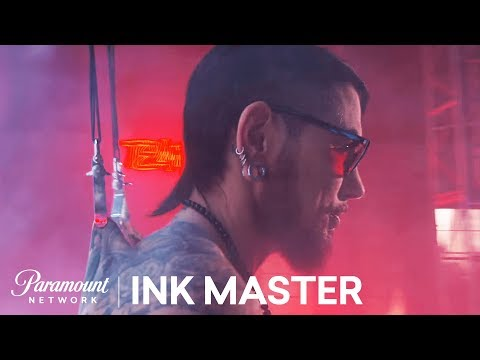 Dave Navarro's Epic Ink Master Finale Opening!