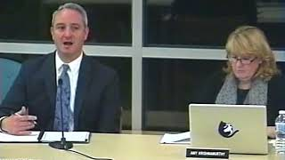 School Committee Meeting 3/1/18 - Interview of ABRSD Superintendent Finalist Peter Light