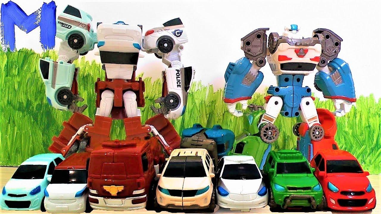Тоботы - Игрушки для мальчиков - Видео для детей