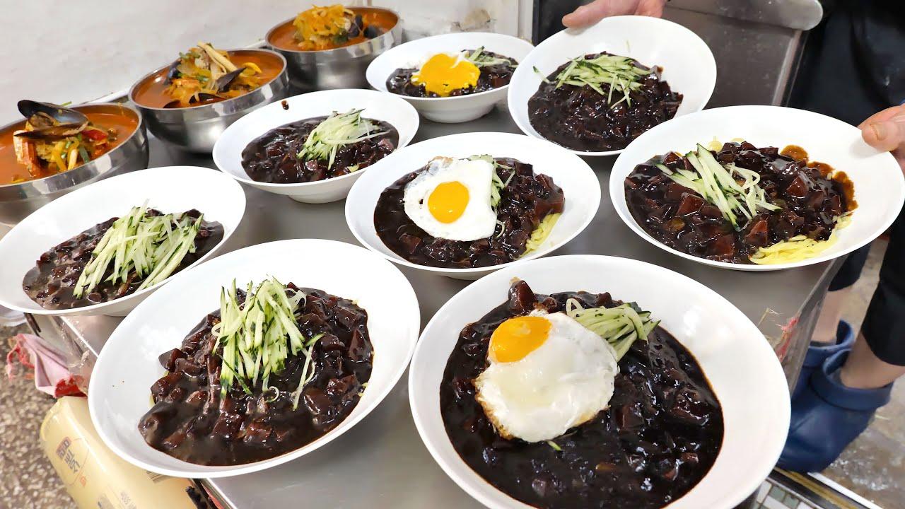 고기와 감자가 듬뿍 ! 엄청난 혜자 2,000원 짜장면, 3,500원 짬뽕 | How $1.7 Black Bean Noodle, JjjangMyun Made |Korean food