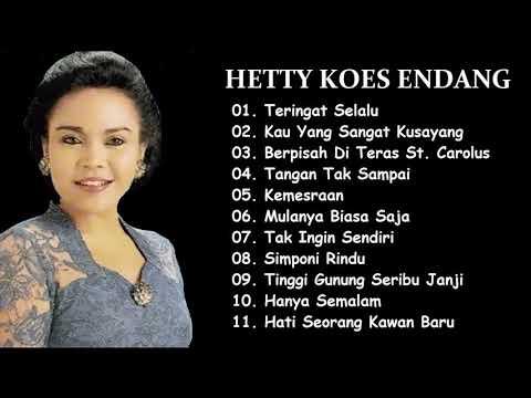 Lagu-lagu Keroncong Terbaik Hetty Koes Endang