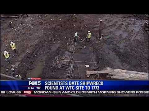 1700s Ship Found in World Trade Center Ruins | Ridiculous News