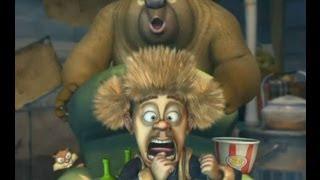 Медведи-соседи 🐻 | 1 сезон 12 серия | Футбольные страсти? | Мультики детям