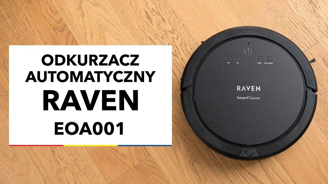 odkurzacz robot automatyczny raven eoa001