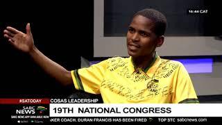 COSAS Leadership | 19th National Congress