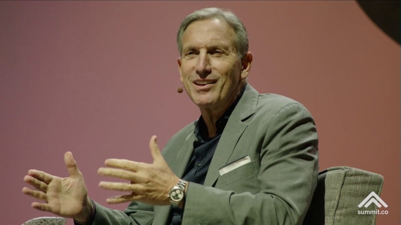 Howard Schultz's Insane Story about Bill Gates and His Dad