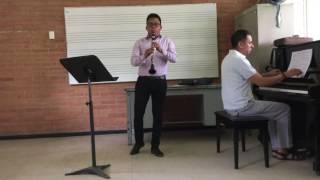 Erwin, Fantasía para clarinete y piano.