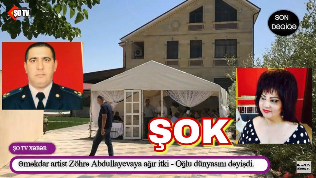 """Oğlunu itirən Zöhrə Abdullayeva:  """"Mənimçün həyat bitdi"""""""