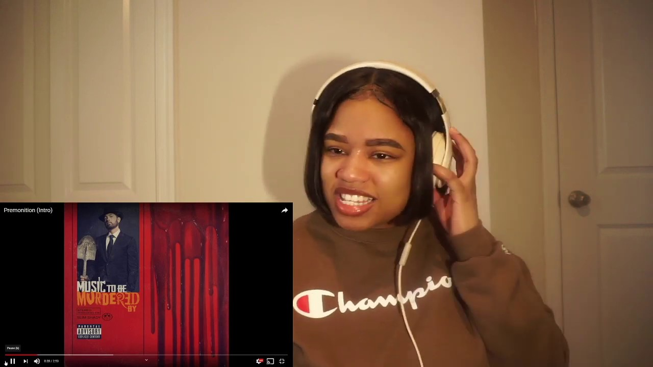 Eminem - Premonition (Intro) *Reaction*!!!