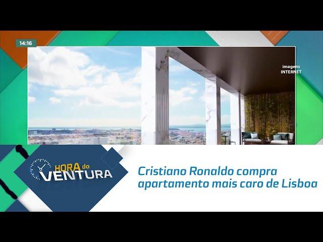 Cristiano Ronaldo compra apartamento mais caro de Lisboa
