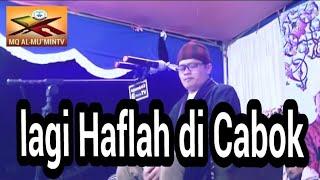 H.Mu'min Aenul Mubarok lagi Haflah  DICABOK.