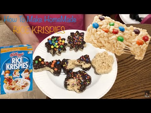 Homemade Rice Krispies Treats | Fun Recipes To Make With Kids