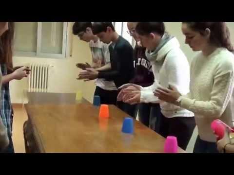 Ejercicio de vasos- Alumnos de música-3º ESO- IES O Ribeiro