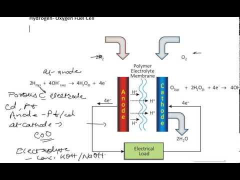 Fuel cell, Hydrogen-oxygen fuel cell, Hydrocarbon-oxygen fuel cell 12 CSBE Electrochemistry