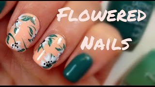 Flowered Nails | mikeligna