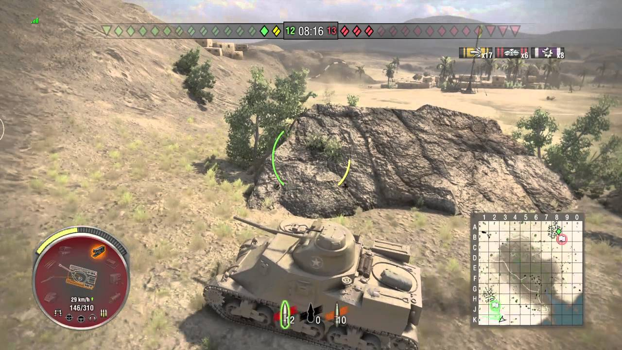 World of tanks Asia (PS4)- The last survive