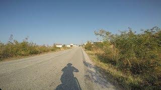 Μάνδρα, Πεζούλα, γέφυρα Νέστου, Νέα Καρβάλη, Καβάλα-cycling along from Mandra to Kavala
