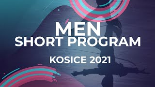 Kirill Sarnovskiy RUS MEN SHORT PROGRAM Kosice Week 3 2021 JGPFigure