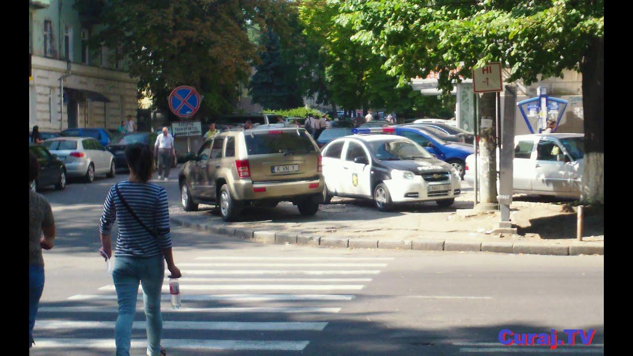 Mașină #MAI1115 și alte ilegalități în intersecție