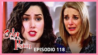 El color de la pasión: Nora se entera que Rebeca es una asesina | C-118 | Tlnovelas
