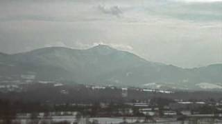 1.2.2009 - Lysá hora, Beskydy (webkamera Metylovičky)