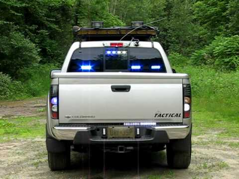 Chevy Colorado 1st Responder Vehicle Rear Youtube