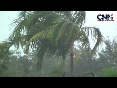 Raw Video - Tropical Storm Isaac (Part 4) - Flooding, Damage & More Rain + Wind