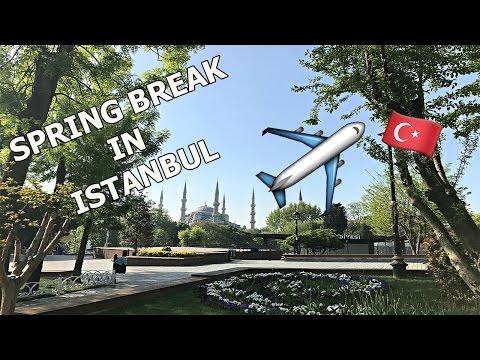 VLOG | Spring break in Istanbul