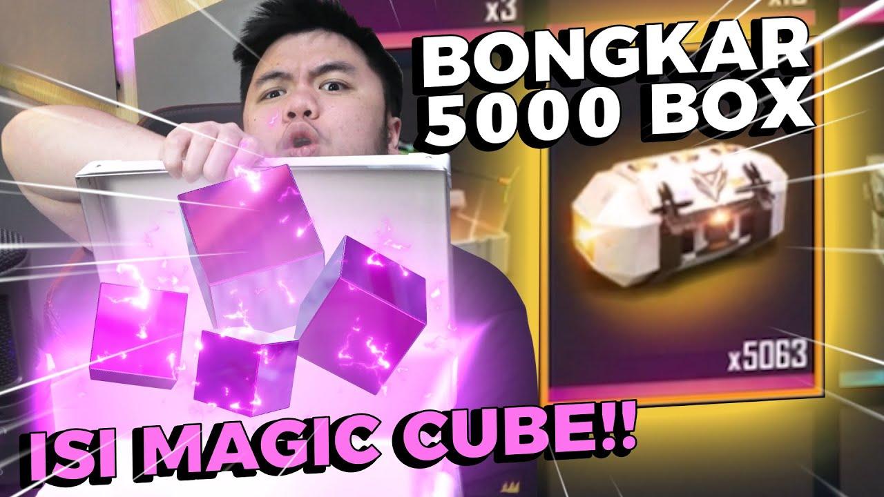 HAH! 5000BOX MAGIC CUBE NUMPUK DI TAS?? GAS BUKA SEMUANYA!