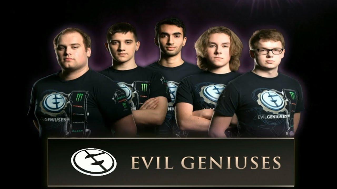 Dota 2 Team Evil Geniuses TI4 YouTube