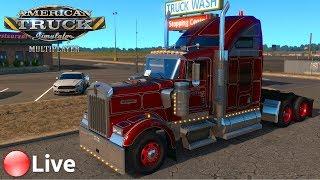???? [LIVE] American Truck Simulator -