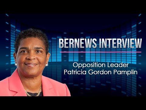 Opposition Leader Patricia Gordon-Pamplin Interview, Aug 11 2017