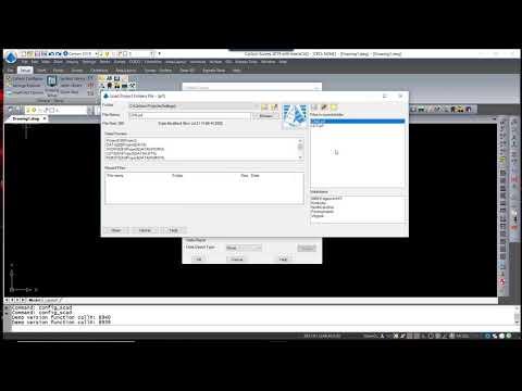 Configuring Carlson | General, Drawing Setup, Survey