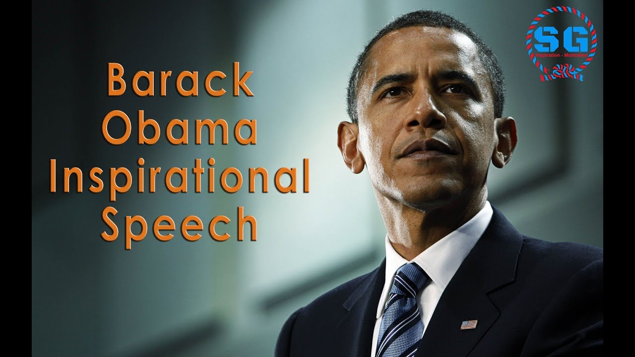 Barack Obama Inspirational Speech - Success Guruji