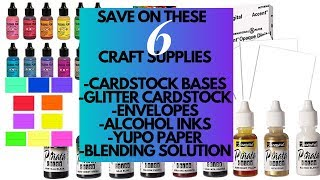 6 Ways to Save LOTS of Money on Craft Supplies