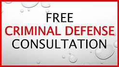 Free Criminal Defense Consultation || Call (888) 989-1539