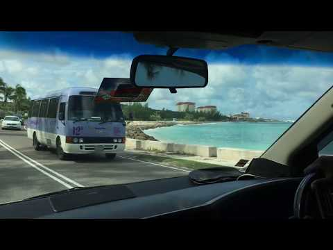 Bahamas Taxi Ride Tour from downtown Nassau to the international Airport