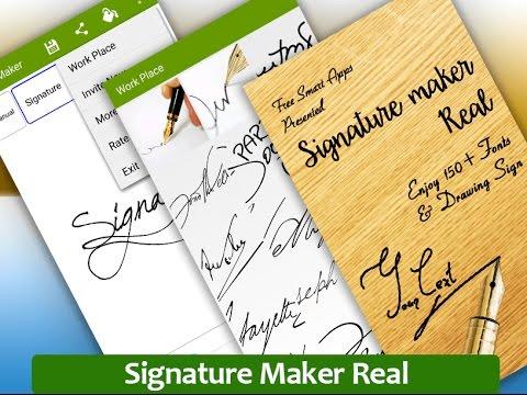 Signature Maker / Autograph Maker For Mobile