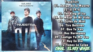 T3R Elemento - Our Wave Nuestra Ola (Disco Completo 2020)