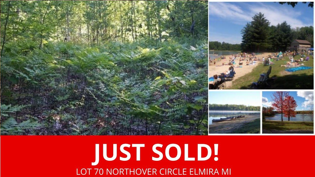 Lot 70 Northover Circle Elmira MI - Wholesale Land For Sale Michigan - www.WeSellNewYorkLand.com