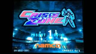 Namco Crisis Zone - Attract Mode Footage